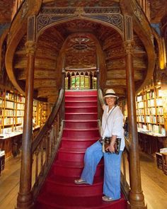 Timing is everything. This bookstore in Porto is an inspiration for J.K. Rowling's Harry Potter series.