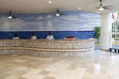 Recepción Hotel Calinda Beach