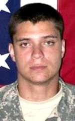 Army SPC Tyler R. Walshe, 21, of Shasta, California. Died August 31, 2009, serving during Operation Enduring Freedom. Assigned to 1st Battalion, 17th Infantry Regiment, 5th Stryker Brigade, 2nd Infantry Division, Fort Lewis, Washington. Died of injuries sustained when an improvised explosive device detonated near his position during combat operations in Shuyene Sufia, Kandahar Province, Afghanistan.
