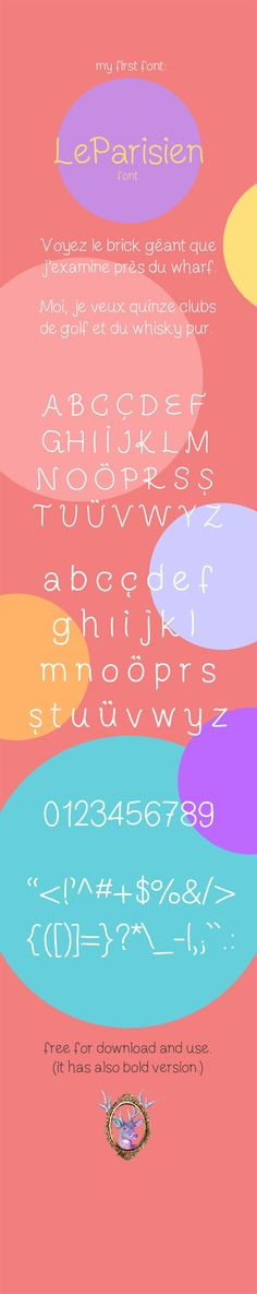 Free Font Of The Day : LeParisien