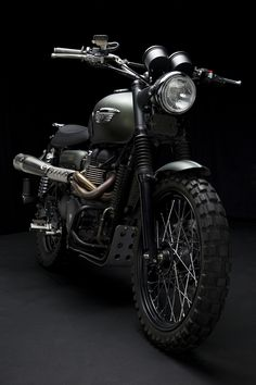 The Jurassic World Triumph Scrambler