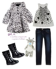 """""""Girl"""" by juliehalloran ❤ liked on Polyvore featuring House of Fraser"""