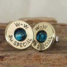 Bullet studded earring so different and cute