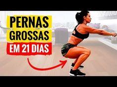 ✬PERNAS GROSSAS EM 21 DIAS II✬ 6 Exercícios Para Ter Pernas Grossas Em Casa Treino de Pernas e Coxas - YouTube