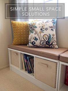 Inspiration for small space solutions