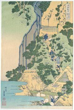 Japanese Ukiyo-e Woodblock print Katsushika Hokusai by UkiyoeSalon