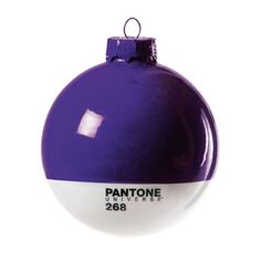 Pantone Xmas Ball Purple, 10€, now featured on Fab.