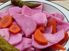 Rezept für ägyptisches eingelegtes Gemüse wie Rüben und Möhren - Turschi -Turshi
