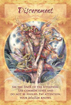 """""""Discernment"""" Magical Times Empowerment Cards par Jody Bergsma"""