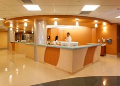Nurse Station at the Eisenhower Medical Center Emergency Department