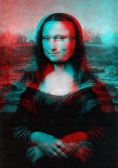 Holographic Mona Lisa