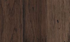Granvale Hickory hardwood in Chocolate finish. Edge/End: Kissed/Kissed ; Location: On/Above/Below Grade ; Mohawk Hardwood Flooring, Hardwood Floors, Floors And More, Concrete Wood, Floor Colors, Shower Tub, Rustic, Chocolate, Bedroom Ideas