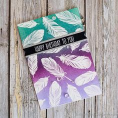 The feather detail in the Clearly Besotted Tickle My Fancy stamp set is beautiful. The set includes solid and detail stamps, but I am just using the detail stamps for this card. I started by preppi…