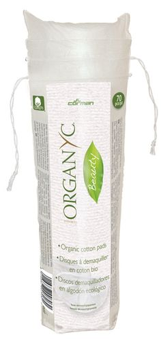 Organyc Beauty cotton pads - are manufactured from certified organic cotton. The specifically embossed side permits and especially gentle and deep cleansing. The packaging is made with renewable raw materials, and it is biodegradable and compostable.