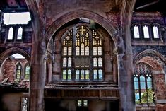 Abandoned City Methodist Church in Gary, Indiana | Urban Exploration | JoeyBLS Photography