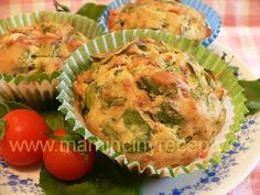 Sýrové muffiny se špenátem Muffins, Breakfast, Pizza, Cupcakes, Fit, Savory Muffins, Foods, Morning Coffee, Muffin