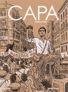 Capa. Estrella fugaz. Sobre el fotógrafo de guerra Robert Capa. Para saber si está disponible en la biblioteca, pincha a continuación  http://absys.asturias.es/cgi-abnet_Bast/abnetop?ACC=DOSEARCH&xsqf01=capa+estrella+fugaz+silloray