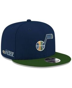 pretty nice edb63 7b94c New Era Utah Jazz Basic Link 9FIFTY Snapback Cap   Reviews - Sports Fan Shop  By Lids - Men - Macy s