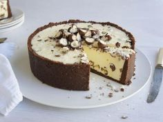 White Chocolate Malteser Cheesecake recipe