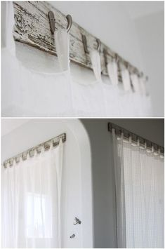 curtain rods 9 Ways to Hang Curtains You Haven't Thought of Before . - curtain rods 9 Ways to Hang Curtains You Haven't Thought of Before – Curtains Up Blo - Unique Curtains, Diy Curtains, Hanging Curtains, Gypsy Curtains, Basement Window Curtains, Farm Curtains, Tab Top Curtains, Short Curtains, Decorative Curtains
