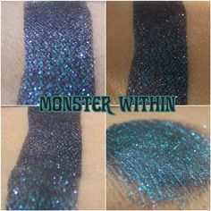 Monster Within Eye Shadow - Oh the Horror!