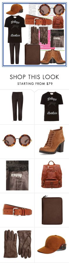 """fashion for for all"" by denisee-denisee ❤ liked on Polyvore featuring Acne Studios, Gucci, Christopher Kane, Circus by Sam Edelman, Lanvin, Officine Creative, Brooks Brothers and vintage"