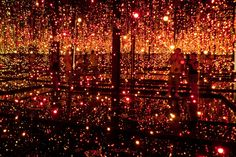 "Yayoi Kusama's ""Fireflies on the Water"""