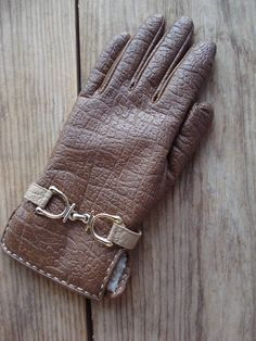 Vintage 1960s Gloves Vegan Faux Leather Driving by bycinbyhand, $25.00