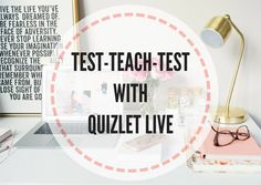 Test-teach-test with Quizlet Live - Lesson Plans Digger