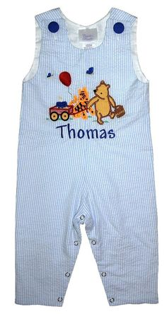 CUSTOM WINNIE the POOH and Tigger 1st Birthday by ChildrensCottage, $54.00