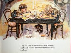 Jenny's picture book review: 'Lucy & Tom's Christmas' by Shirley Hughes