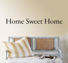 Home Sweet Home Wall Decal at AllPosters.com