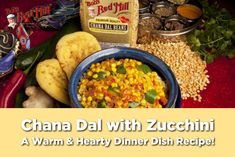 Are you celebrating meatless Monday in your house this week? Give this hearty—yet heart healthy—dinner a try. It's an easy, low carb option to invigorate the taste buds! Find the recipe here: Dinner Dishes, Food Dishes, Bobs Red Mill, Monday Inspiration, Meatless Monday, Taste Buds, New Recipes, Zucchini, Low Carb