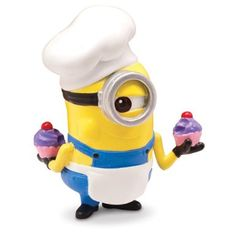 Amazon.com: Despicable Me 2 collectible Action figure- Minion Baker: Toys & Games