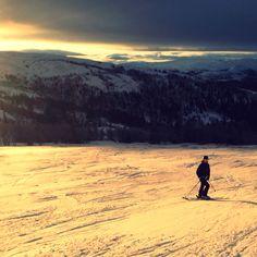 Skiing in Åre!!