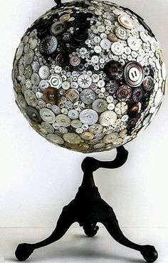 Button globe from Robin Ayres