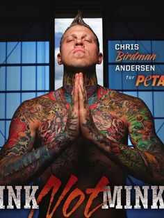 Chris Andersen for PETA (April 2012)