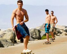 boys shirtless | skateboarding cute summer zac efron boy shirtless hot guy