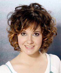 Short Medium Curly Hairstyles for Women. Medium Curly Hairstyles : Short Medium Curly Hairstyles For Women. The second edges provided by these . Bangs With Medium Hair, Curly Hair With Bangs, Curly Hair Cuts, Hairstyles With Bangs, Medium Hair Styles, Curly Hair Styles, Shaggy Hairstyles, Frizzy Hair, Layered Hairstyles