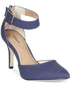 Style&Co. Miloe2 Ankle Strap Pumps