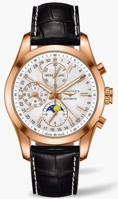Longines Conquest Classic Moonphase gold