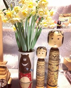# Month anniversary # third # does not change even in the many times  # tired and kana ~ # overtime where are  # Kokeshi #kokeshi # Toshihiko Nishiyama red ginseng