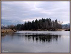 The Shuswap River, near Enderby, B.C. by Laurel211 on Panoramio