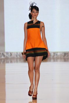Micaela y el Volcán Collection #Runway - Designer: Adriana Santacruz #fashion @Ad_Santacruz