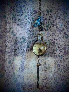 čarovné vreckové hodinky- priehľadné   gatita.gatita - SAShE.sk - Handmade  Náhrdelníky 92c61597581