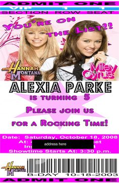 62 Best Hannah Montana Images Hannah Montana Party Items Party