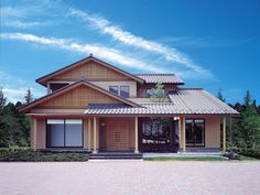 外観・和風 | 外観・インテリア集 | 日本ハウスHD - 檜の注文住宅 Japanese Home Design, Japanese Style House, Traditional Japanese House, Japanese Modern, Japan Modern House, Japan House Design, Asian Interior Design, Modern House Floor Plans, House Flippers