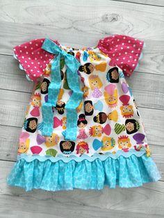 Little Princess Peasant Dress