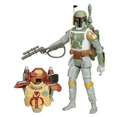 Star Wars The Empire Strikes Back 3.75-Inch Figure Desert Mission Armor Boba Fett