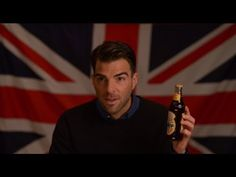 """Zachary Quinto Presents: """"Independence Eve"""" for Newport Brown Ale. This made my day....absolutely love British humor."""